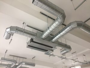 Secondary Duct From Fcu Ductwork Services Iow Ltd